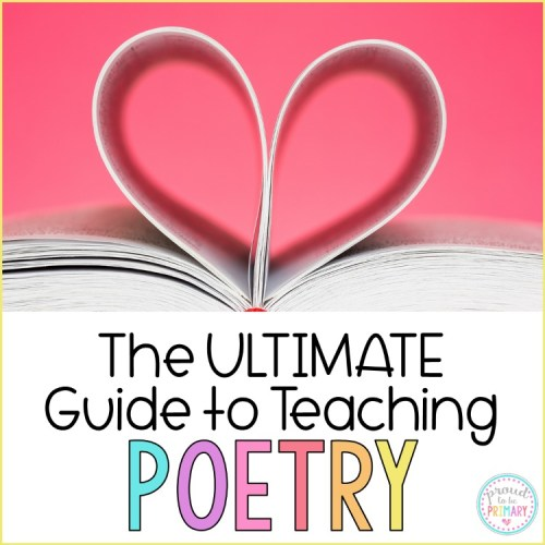 the ultimate guide to teaching poetry