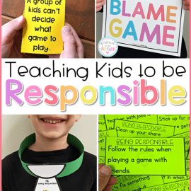 Teaching Kids to Be Responsible in the Classroom