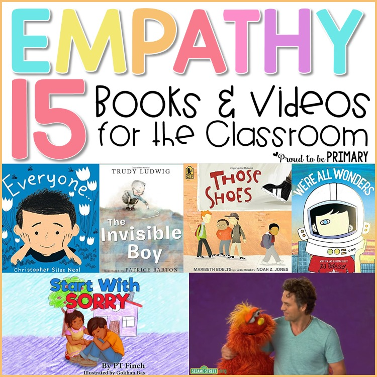 teaching empathy skills: empathy books and videos for the classroom