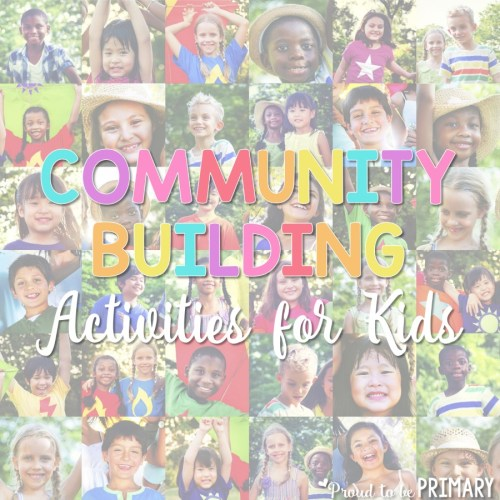 community building activities for kids