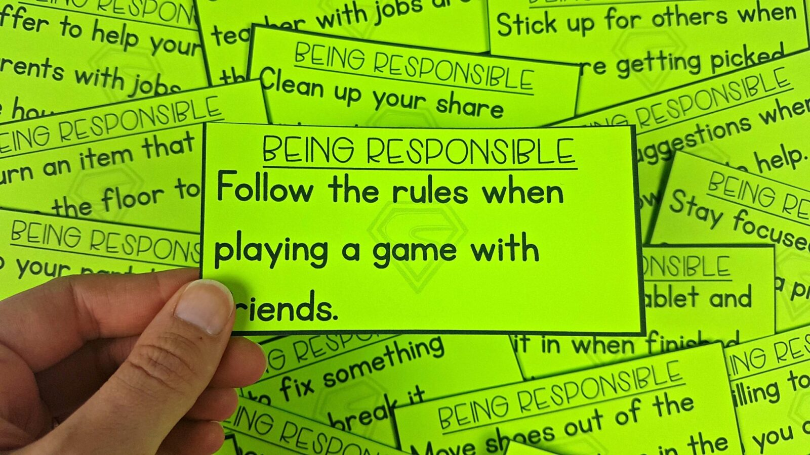 Teaching Responsibility in the Classroom: An Important Task – Proud to be  Primary [ 1152 x 2048 Pixel ]
