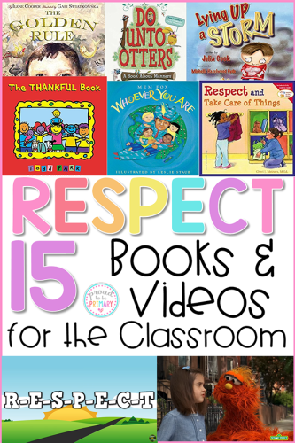 respect activities - books and videos