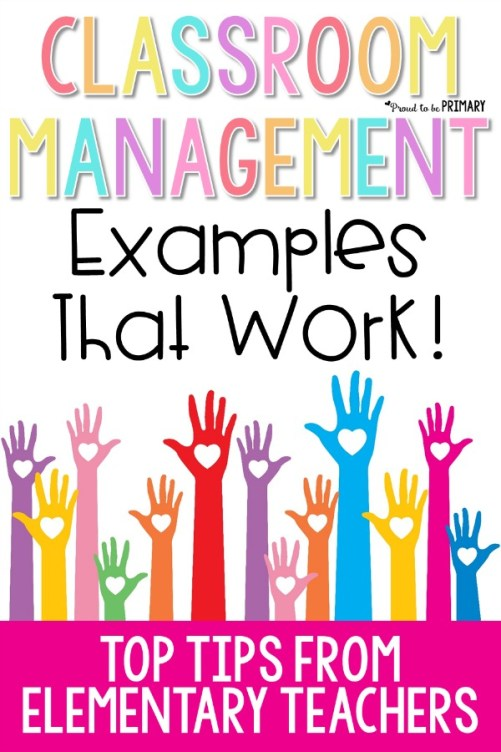 classroom management examples that work