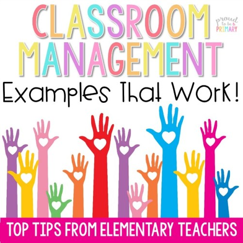 classroom management examples that work from elementary teachers