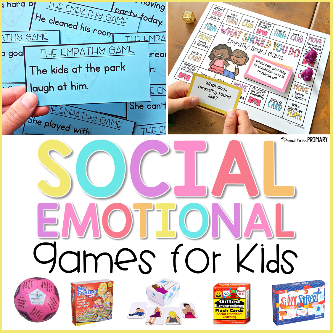 16 Social Emotional Learning Games For Kids Proud To Be