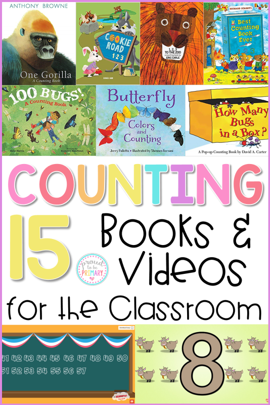 15 counting books and videos for kids