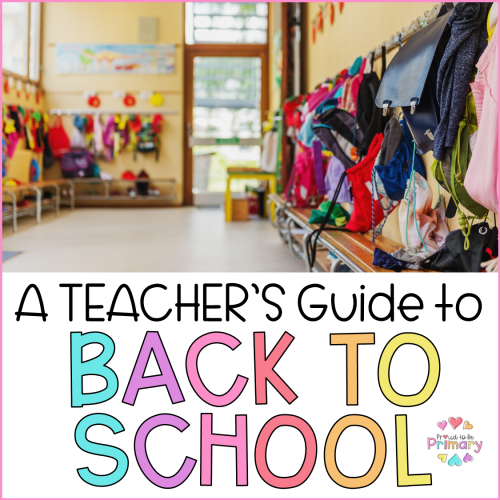 teacher guide to back to school header