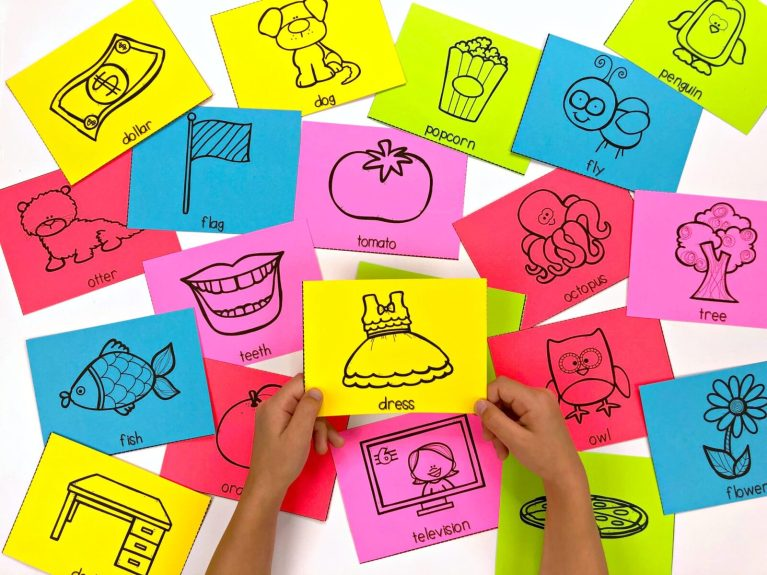 alphabet flash cards for teaching