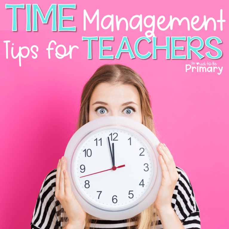 time management strategies for teachers header