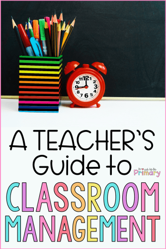 a teacher's guide to classroom management