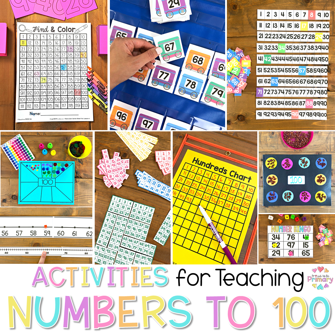 Numbers to 100: Activities and Lessons to Make Learning Fun – Proud to be  Primary [ 1125 x 1125 Pixel ]