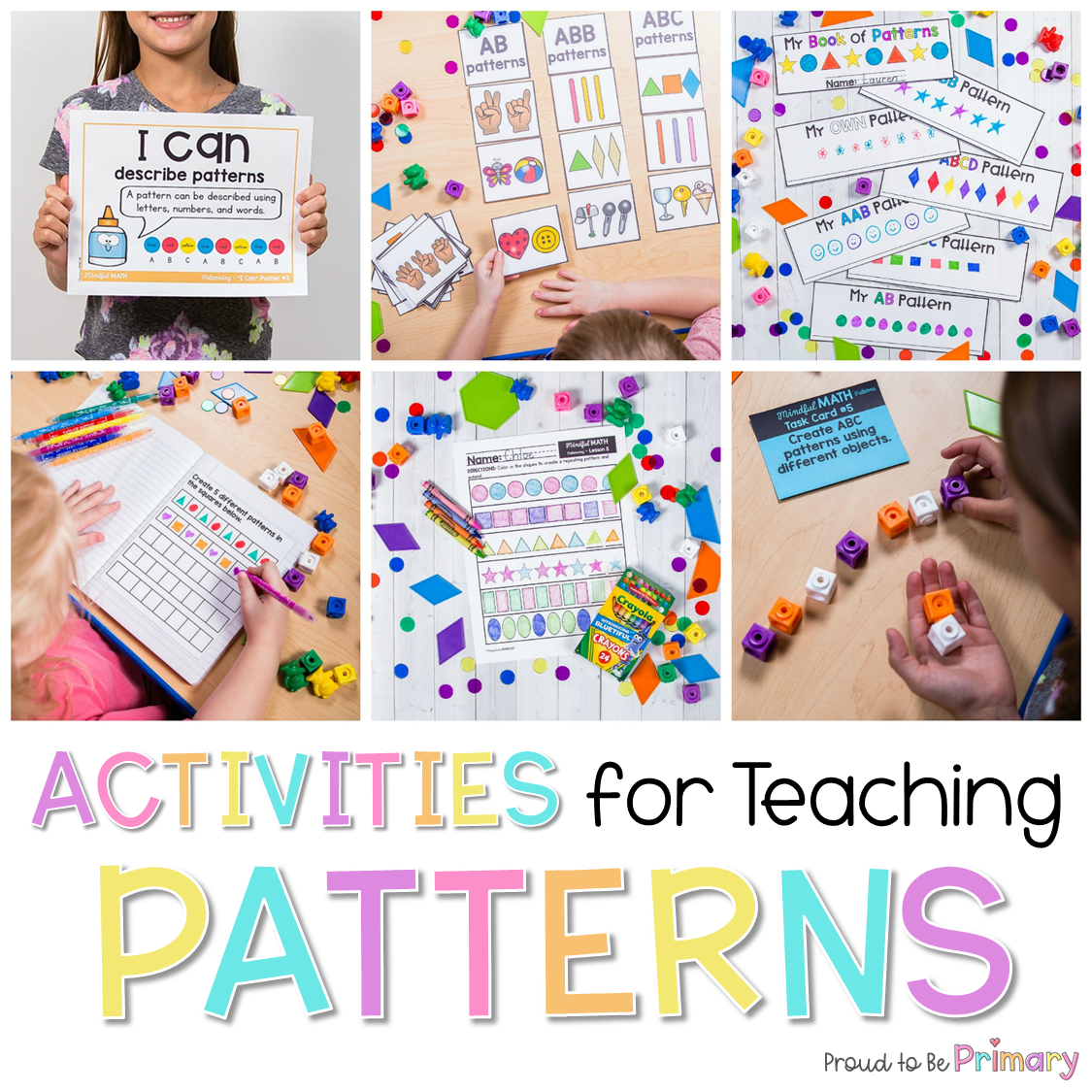 hight resolution of Pattern Activities That Kids Love – Proud to be Primary