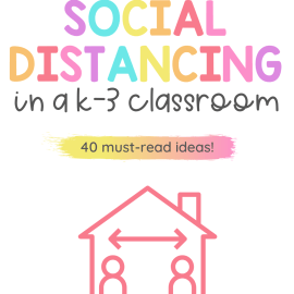 classroom social distancings ideas for k-3 - icon