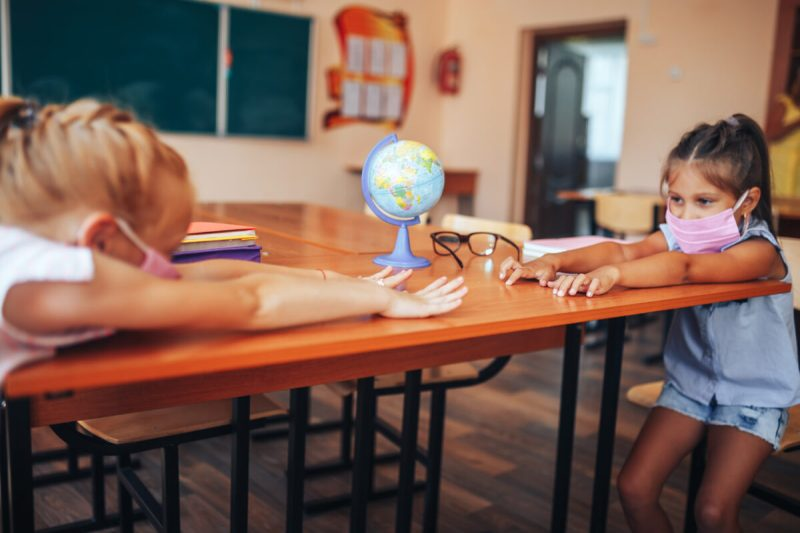 classroom social distancing ideas - morning meetings