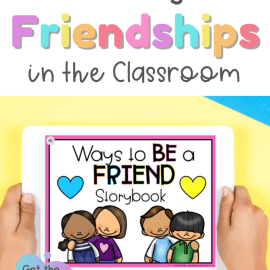 Friendship Building Activities for the K-3 Classroom: Digital storybook