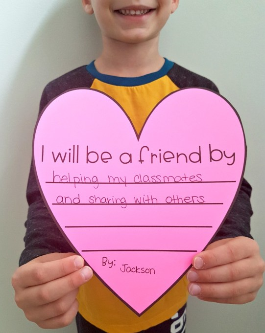 Friendship Building Activities for the K-3 Classroom: Friendship Heart
