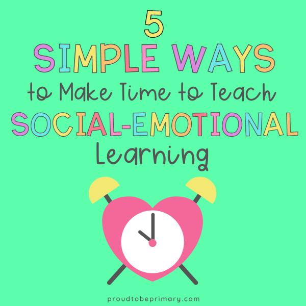 simple ways to teach sel each day