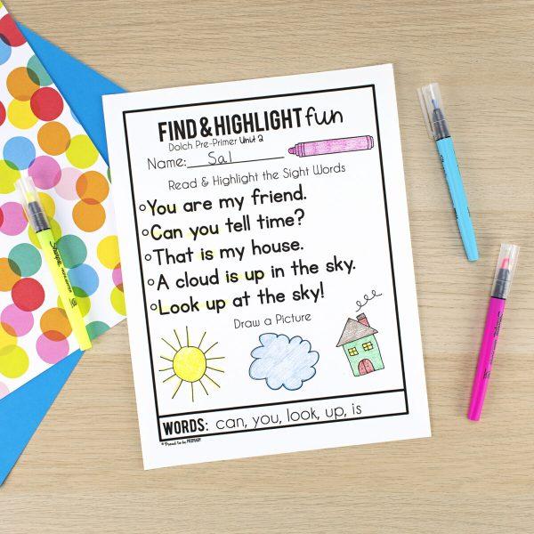 Simple Ways to Teach Sight Words in K-2