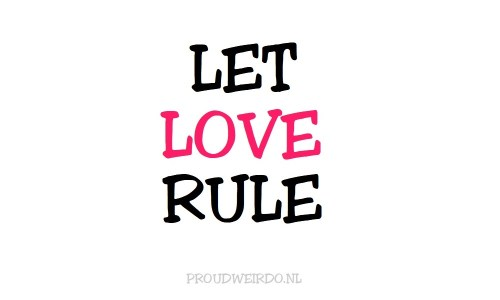 Let love rule
