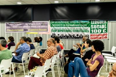 Foro Vivienda I- BCN - el derecho a la vivienda frente al capitalismo financiero