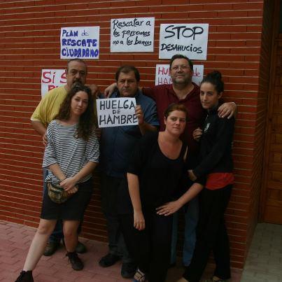 jose coy inicia la huelga de hambre para defender su casa