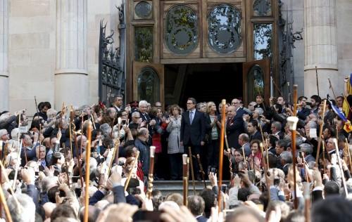 Los desahucios del ex-president Artur Mas y el de Mónica de Sant Andreu
