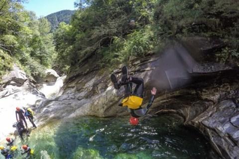 Canyoning Eldorado Ticino ESTATE 2021