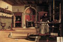 Carpaccio-3.-Visió de Sant Agustí-1502