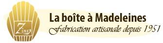 Logo de la pâtisserie La boîte à madeleines