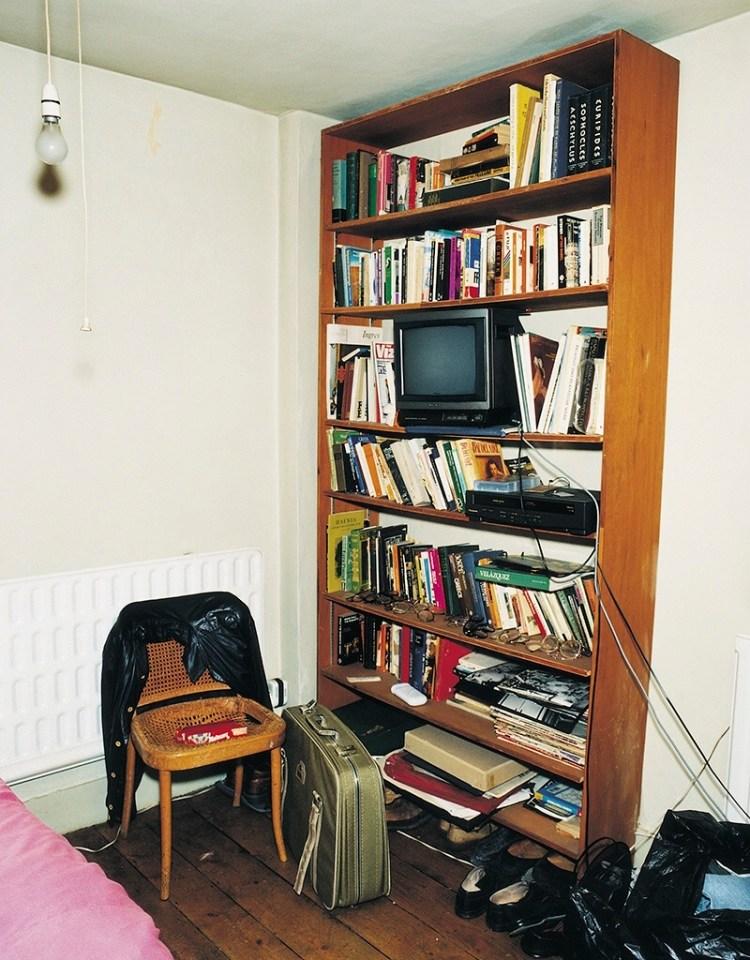 Francis Bacon's bookshelf