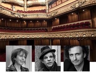 Valérie Bonneton, Denis Lavant et Laurent Natrella lisent Proust