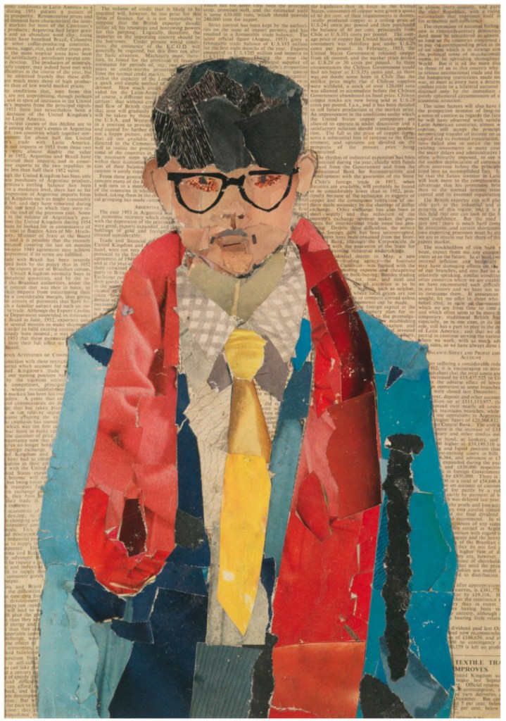 collage de David Hockney