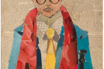 collage de David Hockney - David Hockney, Narrateur de son environnement