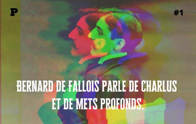 Montage avec photo de Proust colorisée