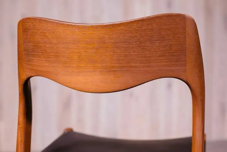 Niels Otto Moller Model 71 Dining Chairs  Provenance