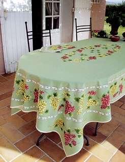table ovale cuisine