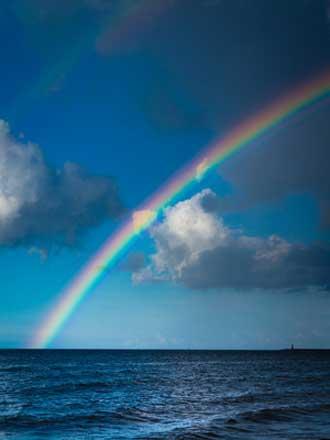 Couleur D Un Arc En Ciel : couleur, Couleurs, L'arc-en-ciel, Provence