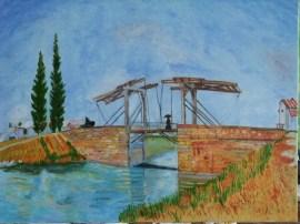 Le Pont de Langlois Arles May 1888