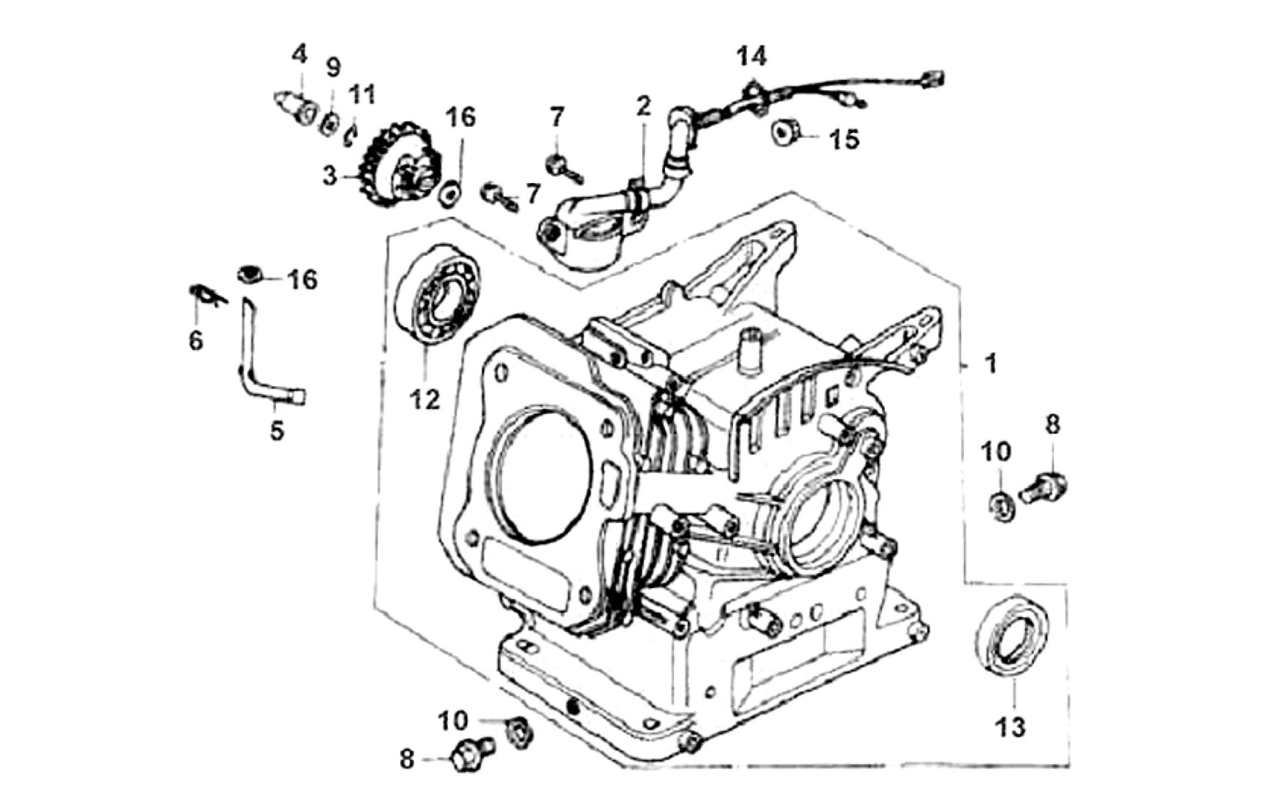 Honda Gx390 Governor Diagram