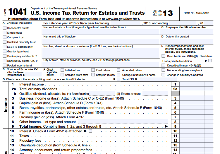 Tax Responsibilities Of An Estate Executor Or Administrator Proven