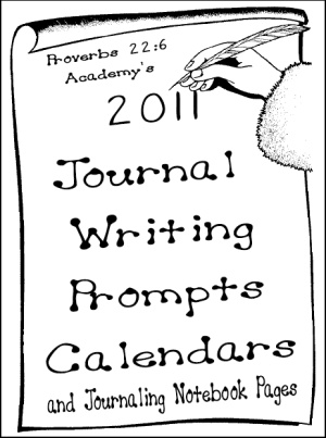 E-Book: 2011 Journal Writing Prompts Calendars and