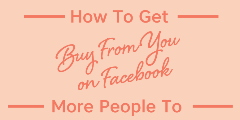 What's the secret to get more people to buy from you on Facebook? I have the answer! Implement these strategies and watch your business BOOM...Tune in NOW! #facebook #onlinebusiness #mompreneur #womeninbuisiness #angelicaduncan #silkoversteel