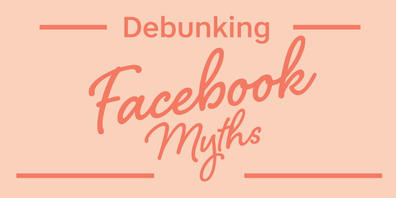 You can't believe everything you hear about Facebook. There are TONS of them, mostly of rooted in the wrong belief system. Let's debunk those myths today! #mompreneur #onlinebusiness #facebook #angelicaduncan #silkoversteel #sos