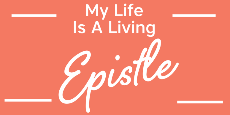 My life is a living Epistle for Christ - Daily Confessions and Affirmations For Christians #christianaffirmations #christianconfessions #christianquotes #inspirationalquotes #motivationalquotes #affirmations #confessions #speaklife #encouragement #inspiration #hope #faith #bible #scripture #angelicaduncan #silkoversteel #sos