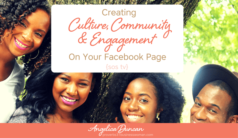 {sos tv} Episode #3 – Creating Culture, Community,  And Engagement On Your Facebook Page