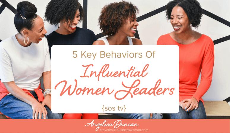 {SOS TV} Episode #19: 5 Key Behaviors of Influential Women Leaders