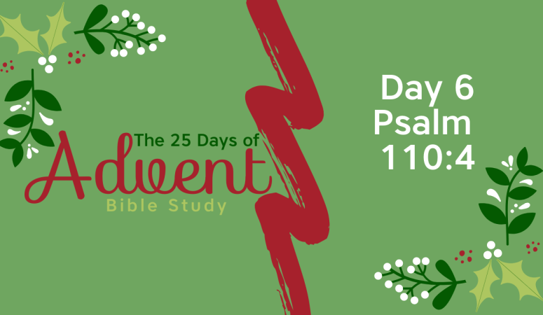 25 Days of Advent Bible Study Series {Day 6}
