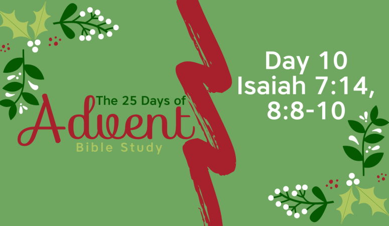 25 Days of Advent Bible Study Series {Day 10}