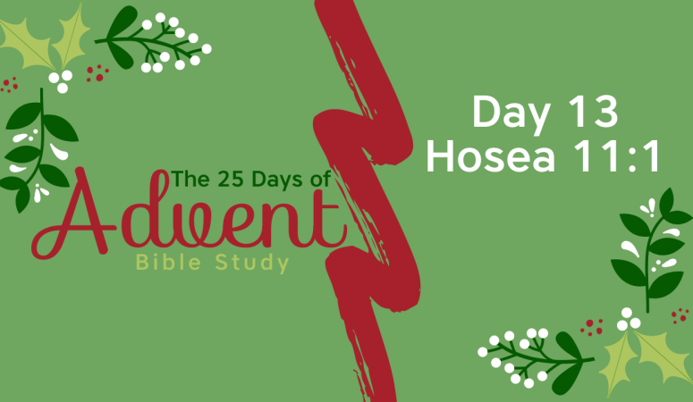 25 Days of Advent Bible Study Series {Day 13}