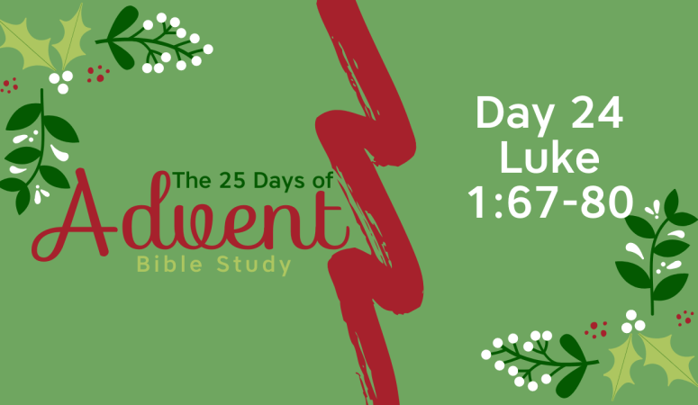 25 Days of Advent Bible Study Series {Day 24}